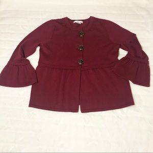 💍design history cardigan button blouse sweater